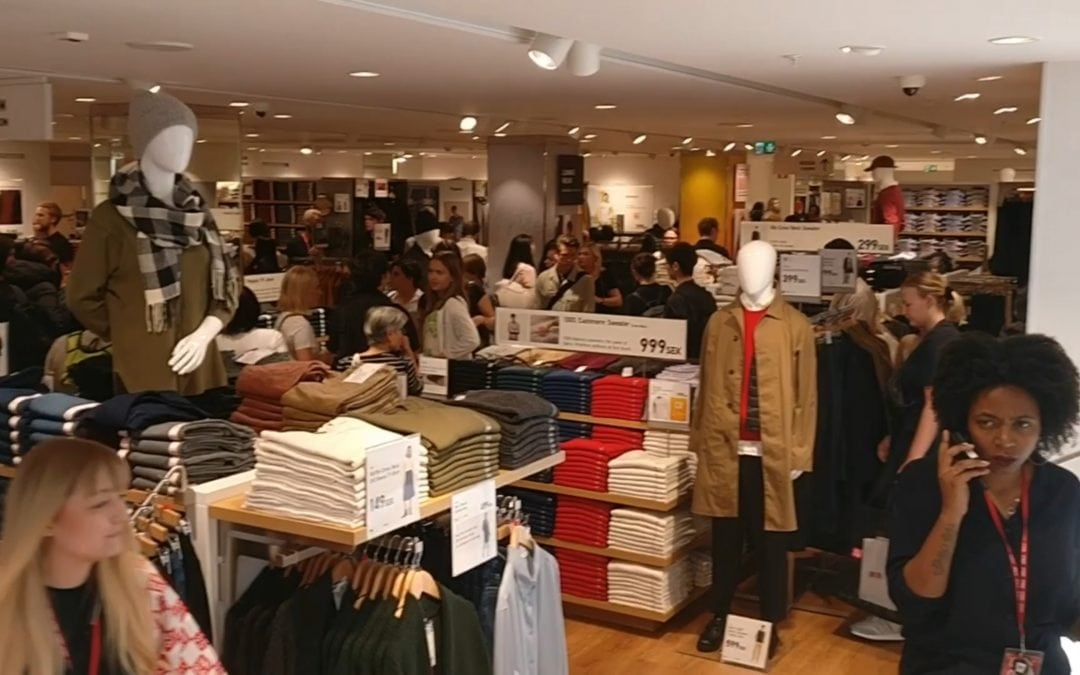 UNIQLO launching its first store in Scandinavia